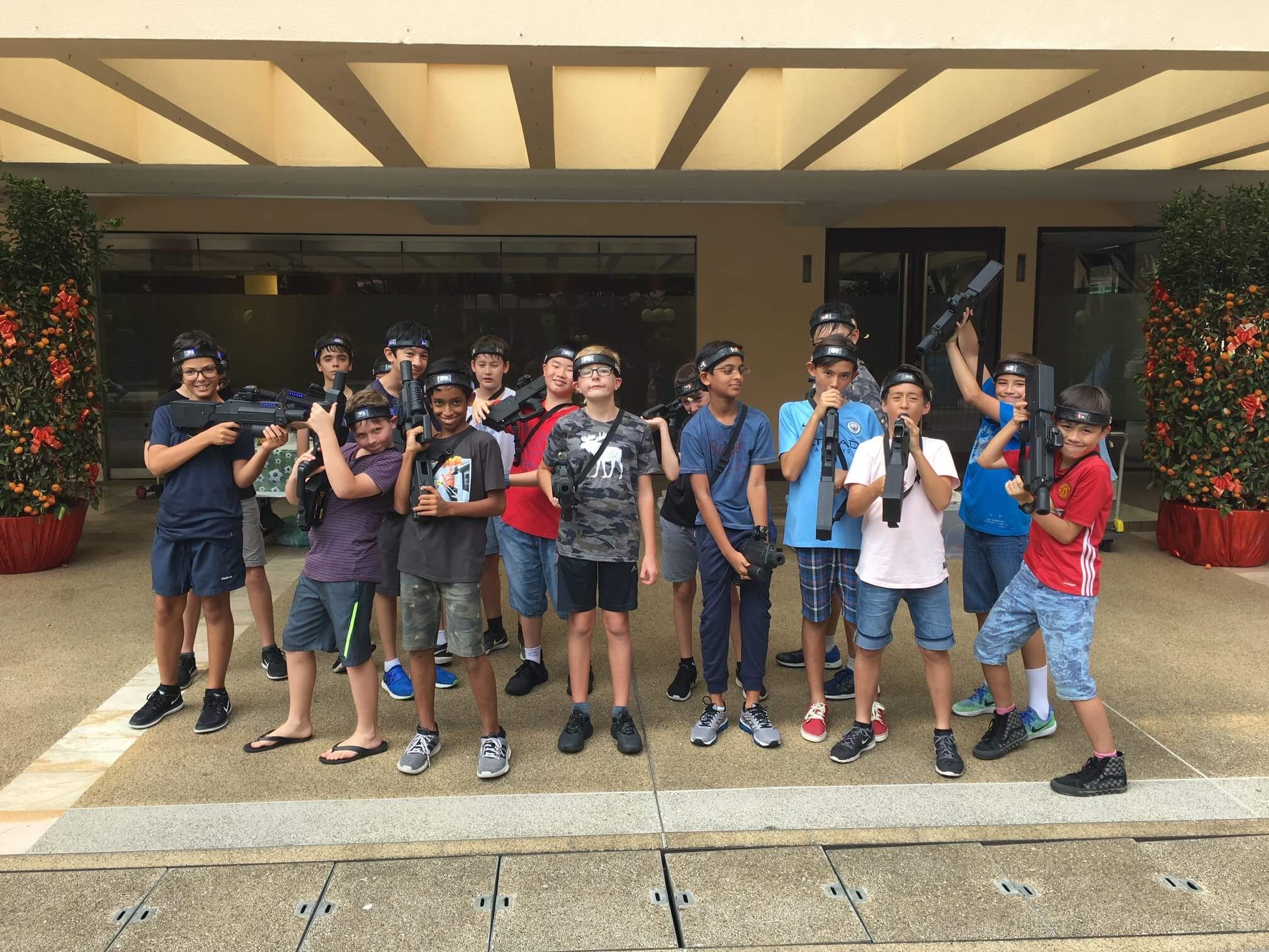 laser tag birthday party for shavak